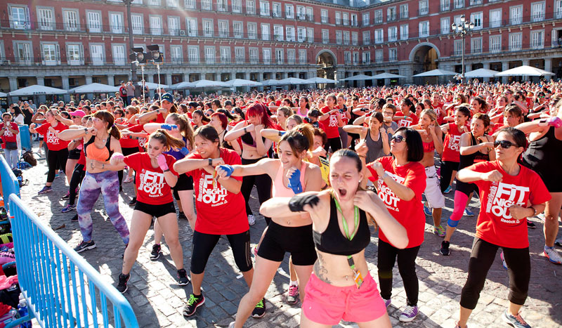 Women's Health Fit Night Out reúne a 2.500 mujeres
