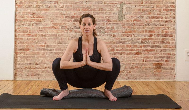 Ejercicios de yoga para un embarazo deportivo