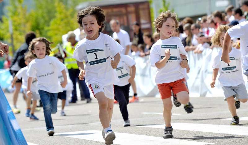 Las mejores imágenes de la carrera Proniño 2015
