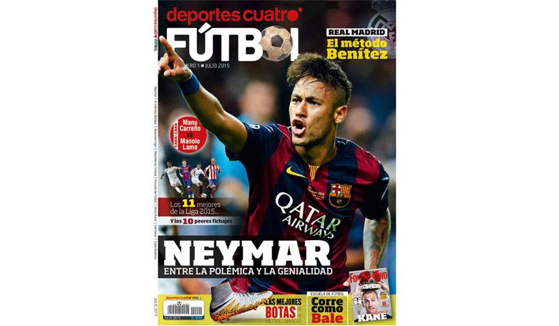 """La revista de los futboleros, nace """"Deportes Cuatro"""""""