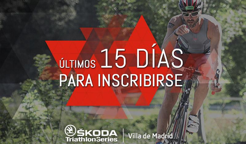 Últimos días para apuntarte al triatlón Villa de Madrid