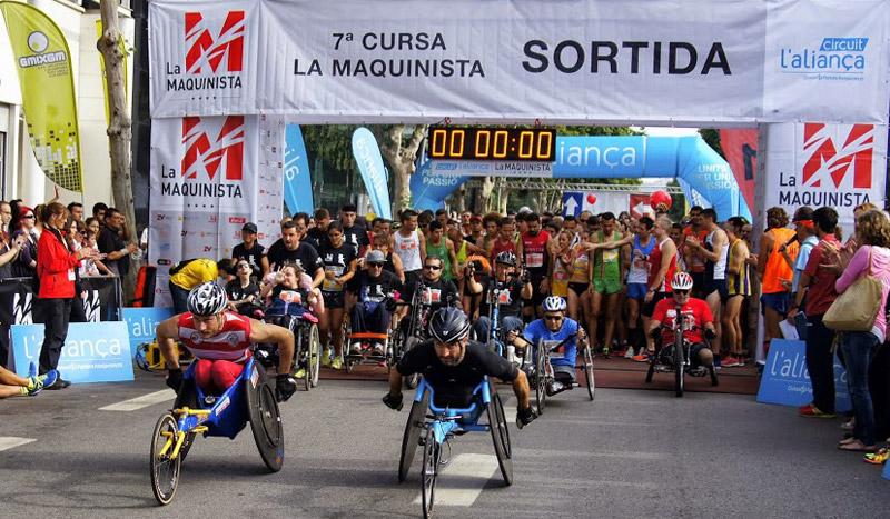 ¡Deporte y solidaridad a toda máquina! Carrera La Maquinista por la Integración