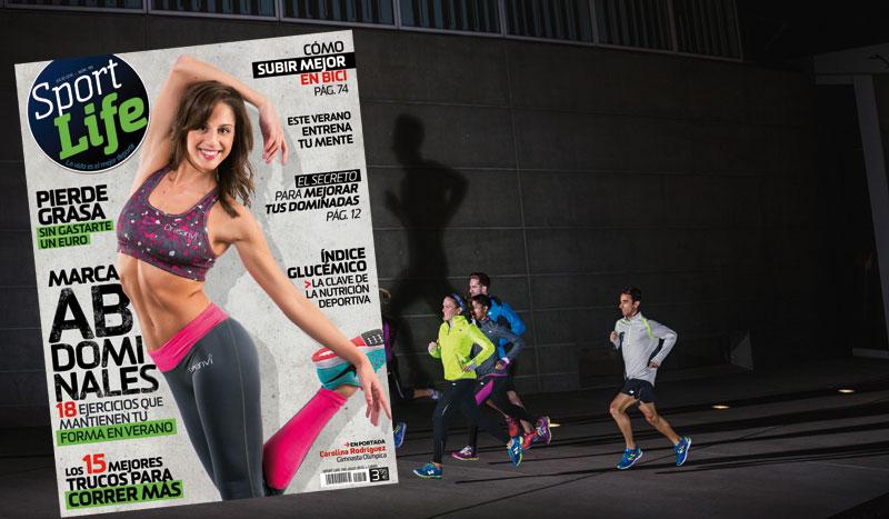 Llévate tus abdominales también de vacaciones con el número de julio de Sport Life