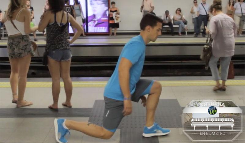 Trabajo de tren inferior. ¡Al metro a entrenar!