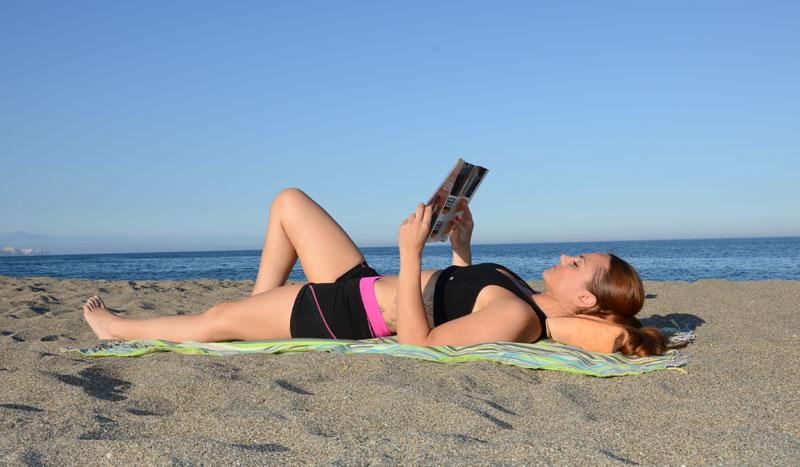 Leer sin dolor de espalda