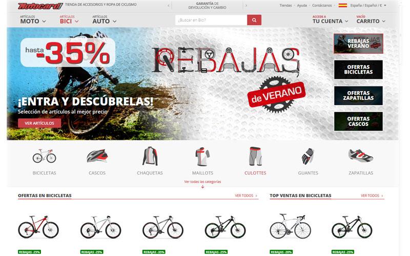 Nueva sección de bici online en Motocard.com