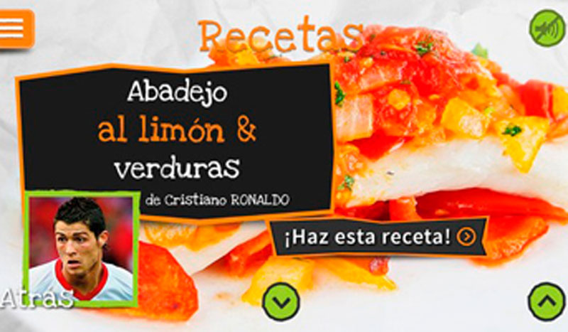 Prepara la comida... ¡Con Cristiano Ronaldo!