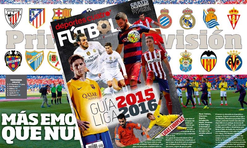 El número 2 de la revista Deportes Cuatro Fútbol a la venta a partir de mañana