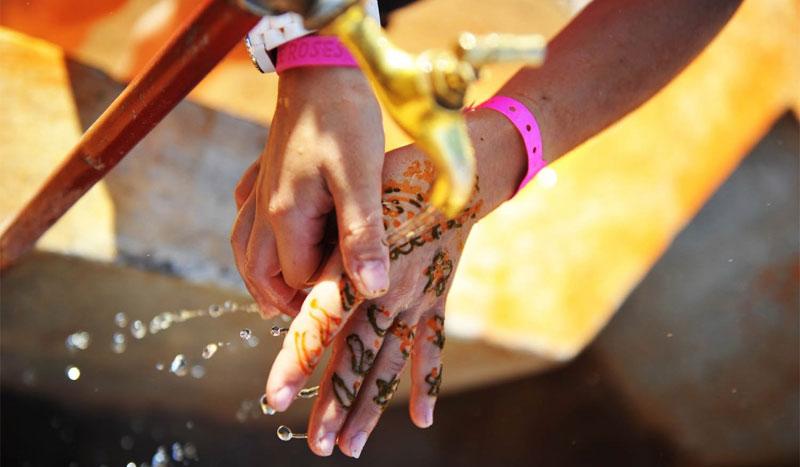 Una correcta hidratación para rendir... ¡También en el desierto!