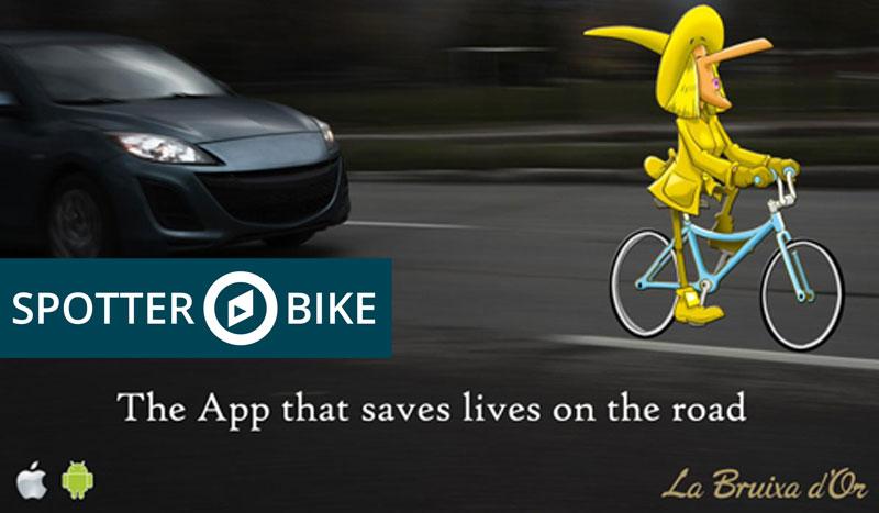Spotter Bike, la aplicación amiga del ciclista