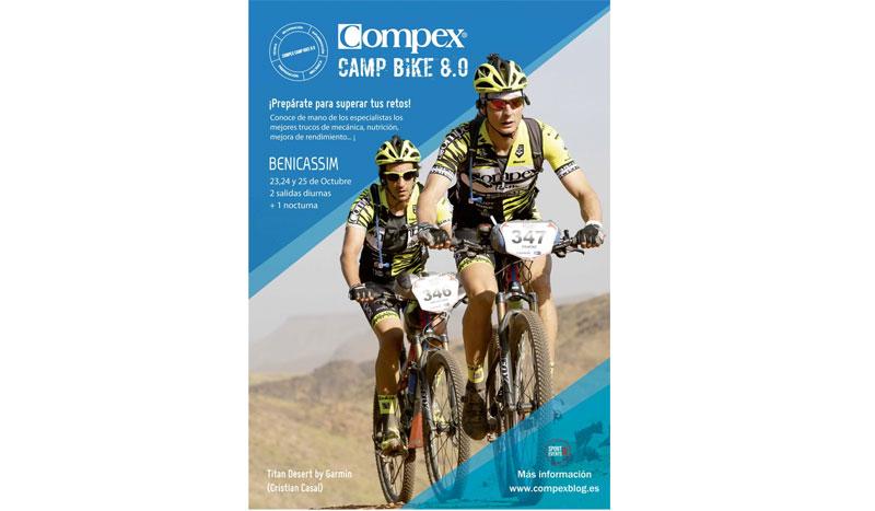 Compex Camp Bike 8.0: el campamento para los biker de montaña