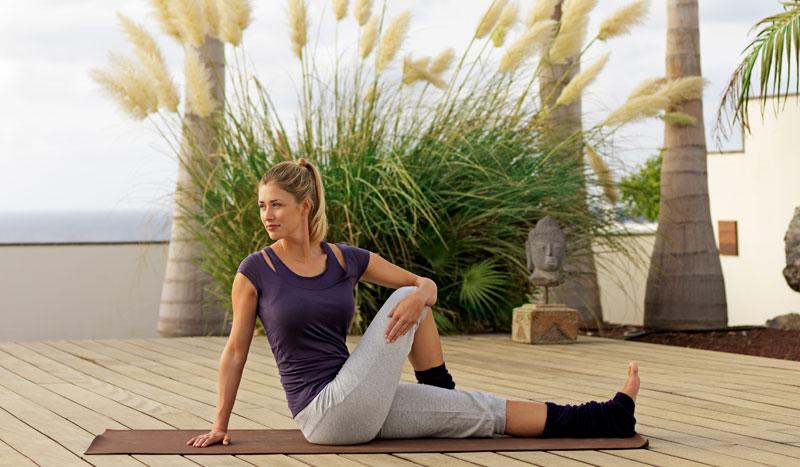 Ejercicios de yoga para evitar el dolor de espalda