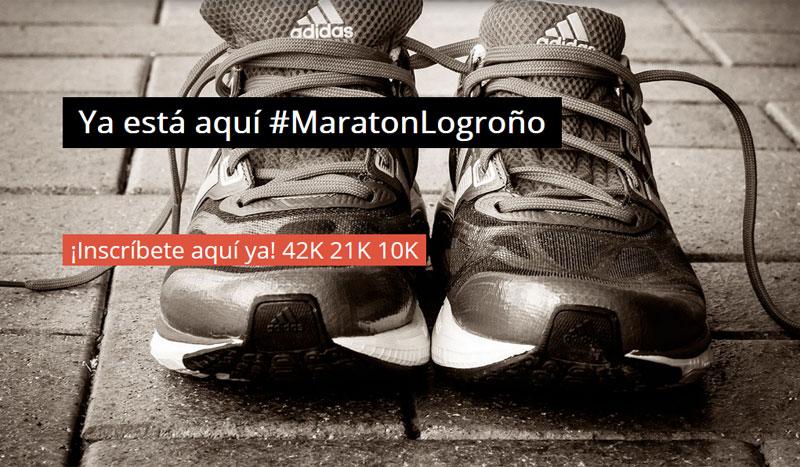 Más de 1.300 runners correrán el próximo 13 de septiembre en #MaratonLogroño