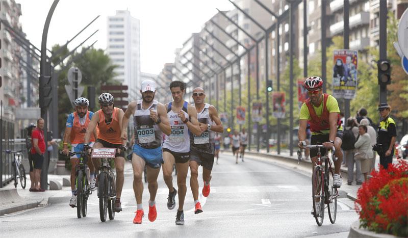 El lado más solidario del II Maratón Internacional Adidas Ciudad de Logroño