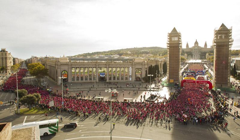Abiertas las inscripciones para la Carrera de la Mujer de Barcelona