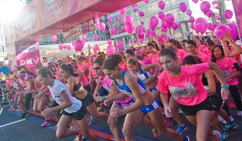 La Carrera de la Mujer de A Coruña en imágenes