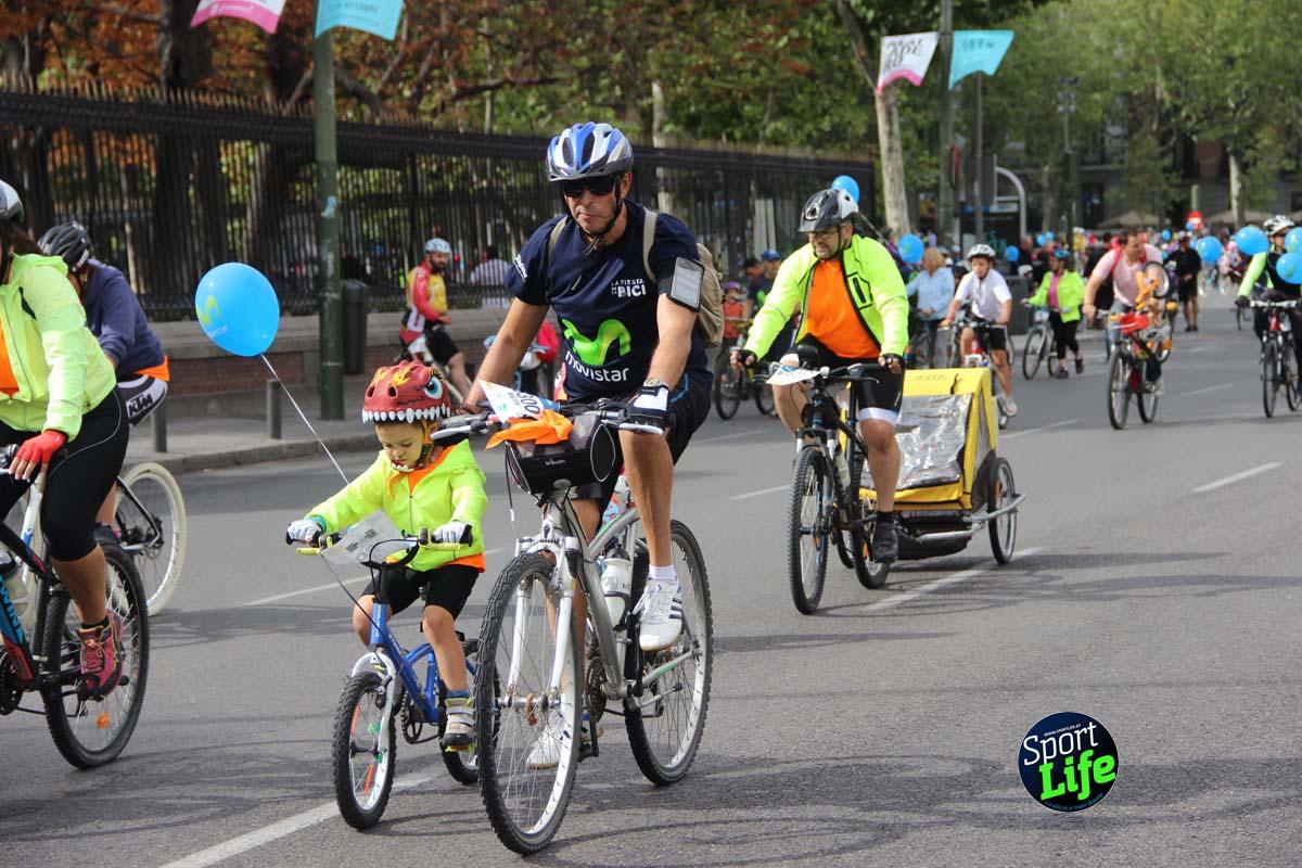 La gran Fiesta de la Bici en imágenes