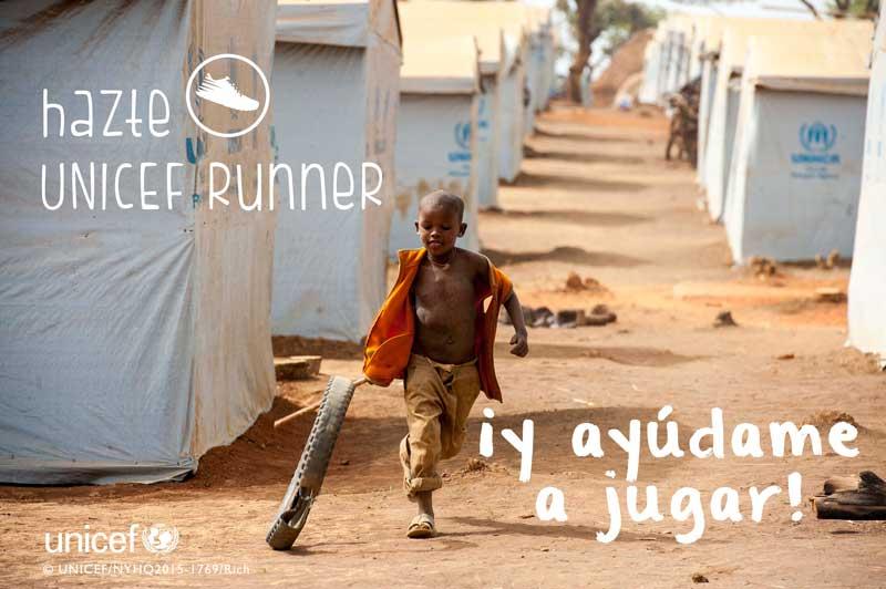 "#TeamUNICEF World Run: 10 km ""mundiales"" para salvar vidas"