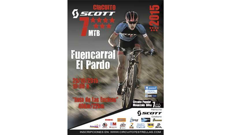 La última estrella del circuito de mountain bike madrileño