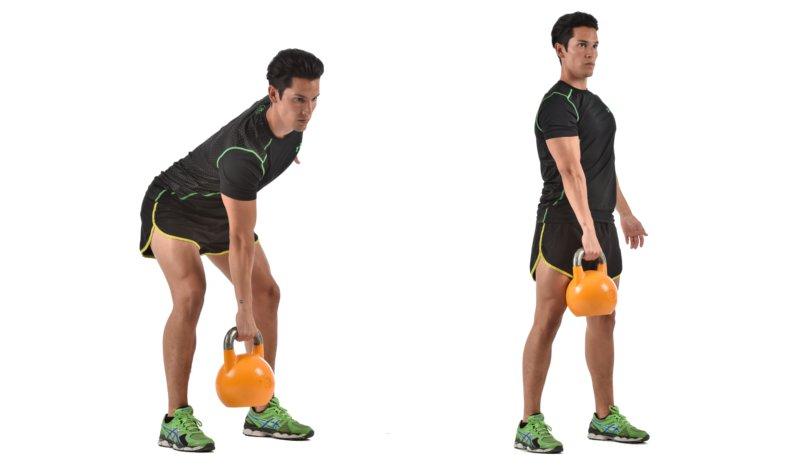 Tres ejercicios de core con kettlebell