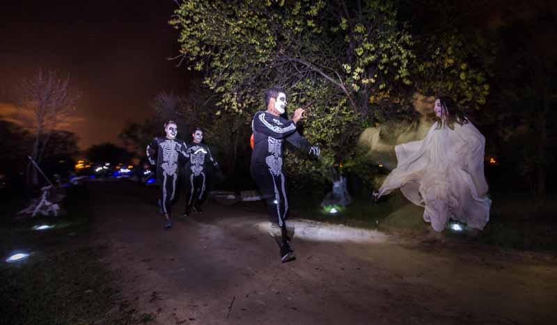 ¡Éxito terrorífico de la Halloween Run!
