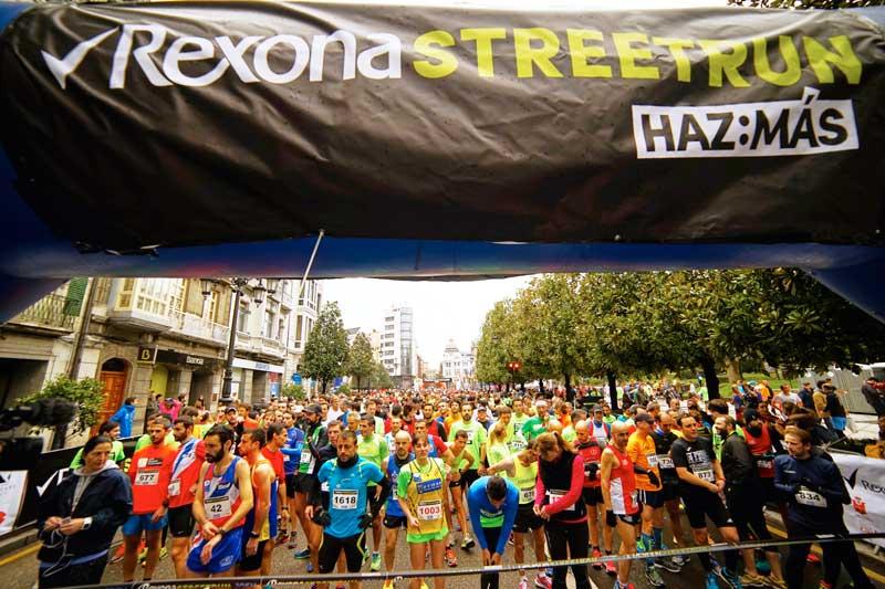 Zaragoza y Barcelona cerrarán el circuito de las Rexona Street Run