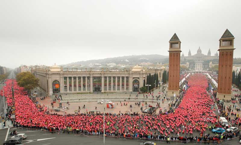 Miles de fotos gratis de la Carrera de la Mujer de Barcelona