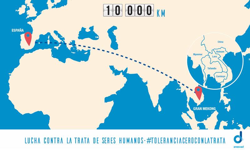 10.000 km de pedales y solidaridad #toleranciacerocontralatrata