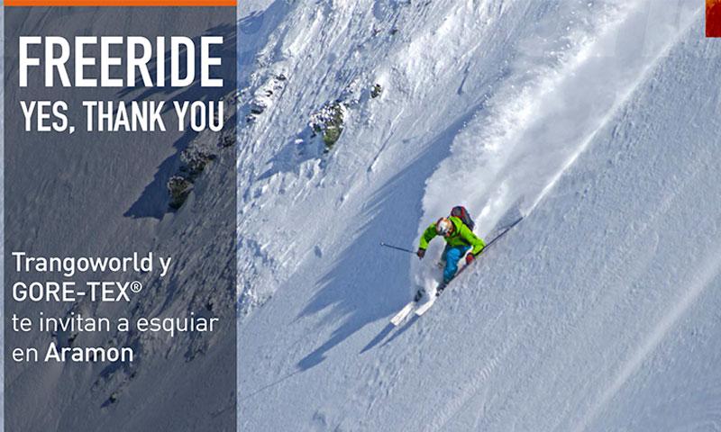 ¿Quieres esquiar en Aramon? Trangoworld y GORE-TEX te invitan