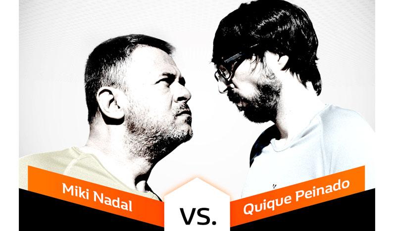 Miki vs Quique: ¿quién quedará por delante en la Rexona Street Run de Barcelona?
