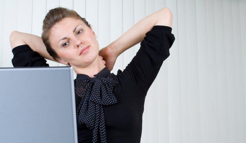 Cinco ejercicios que puedes hacer en la oficina