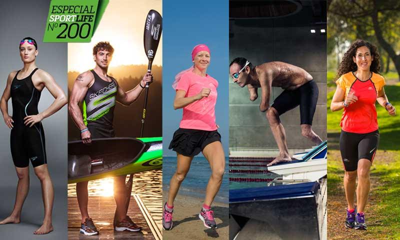 ¡Cumplimos 200 números! Sport Life diciembre llega al quiosco con 5 portadas y el Gran Atlas de la Musculación