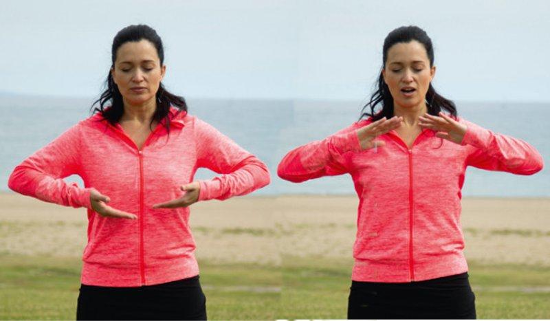 Cinco ejercicios de yoga para calentar