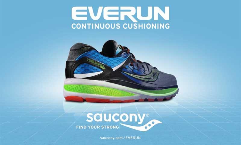 Everun, la nueva tecnología de Saucony