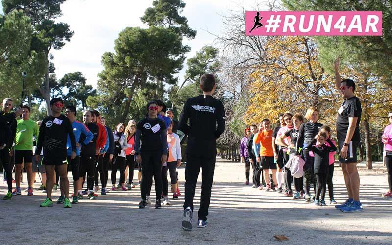 Segunda quedada de #Run4AR para disfrutar de running y solidaridad
