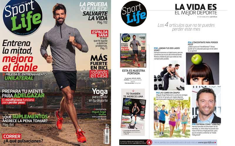 El número 201 de Sport Life ya en los quioscos, ¡tu mejor propósito para el 2016!