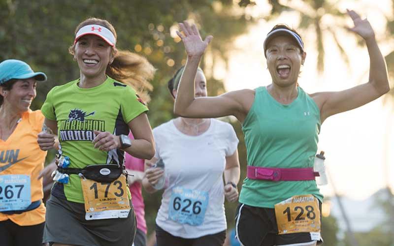 Los 42 km más paradisíacos en el maratón de Las Bahamas