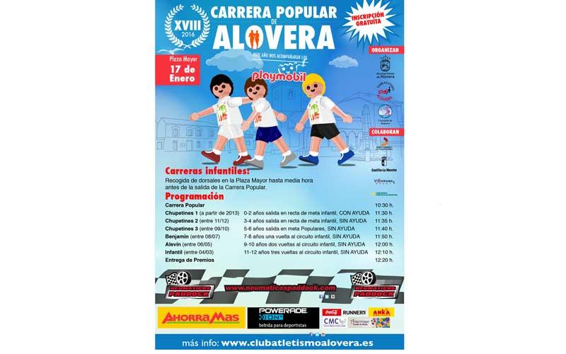 "10 km para ""volar"" en Alovera"