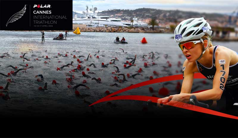 Un triatlón de cine... ¡Vuelve el Polar Cannes International Triathlon!