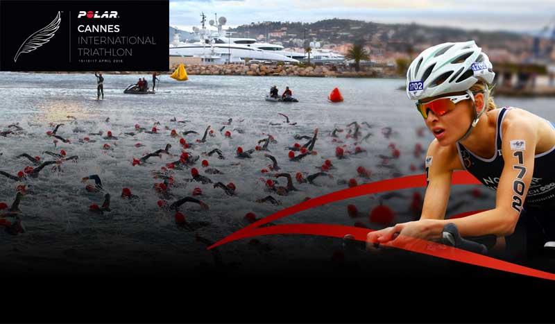 Un triatlón de cine... ¡Vuelve el Polar Cannes International Triathlon!