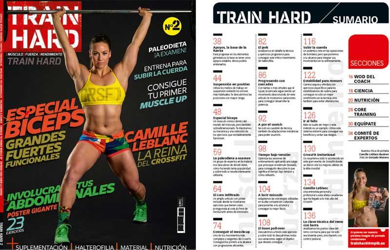 ¡Vuelve el nº 2 de la revista Train Hard!