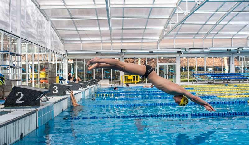 La salida de natación paso a paso