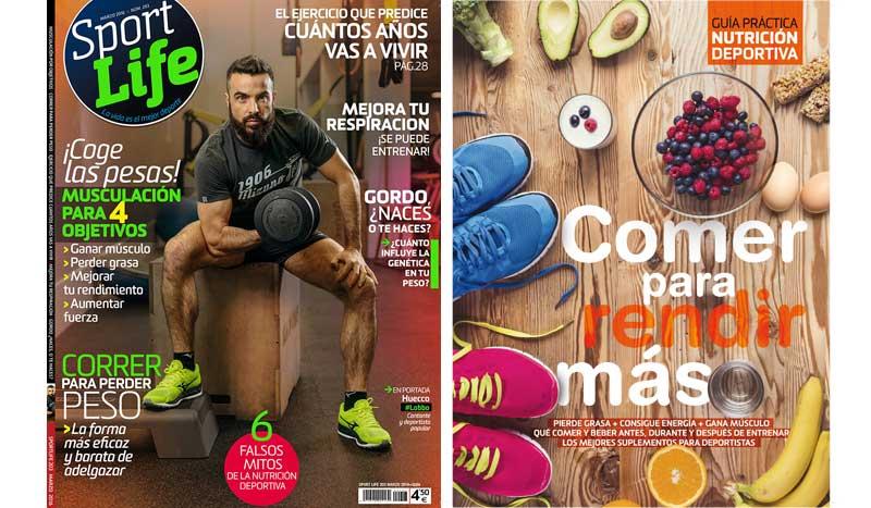 ¿Guía práctica de nutrición deportiva o librito de abdominales? ¡Elige con tu Sport Life de marzo!