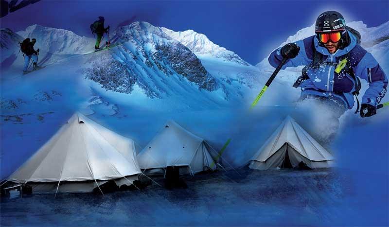 GORE-TEX Haglöfs High Camp: el campus para los amantes del esquí de travesía y el freeride
