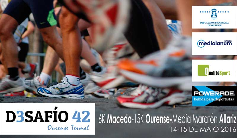 El triple Desafío 42 Ourense Termal