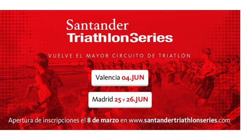 Triatleta, ¡abrimos temporada con las Santander Triathlon Series!