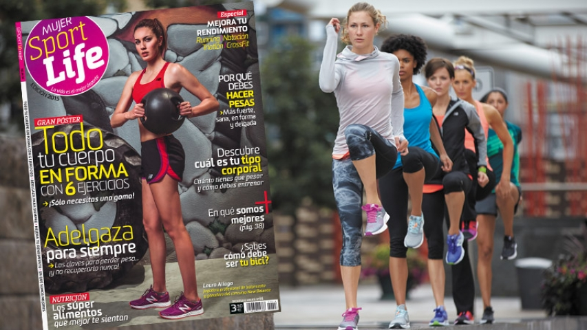Bases legales concurso Sport Life Mujer 2016