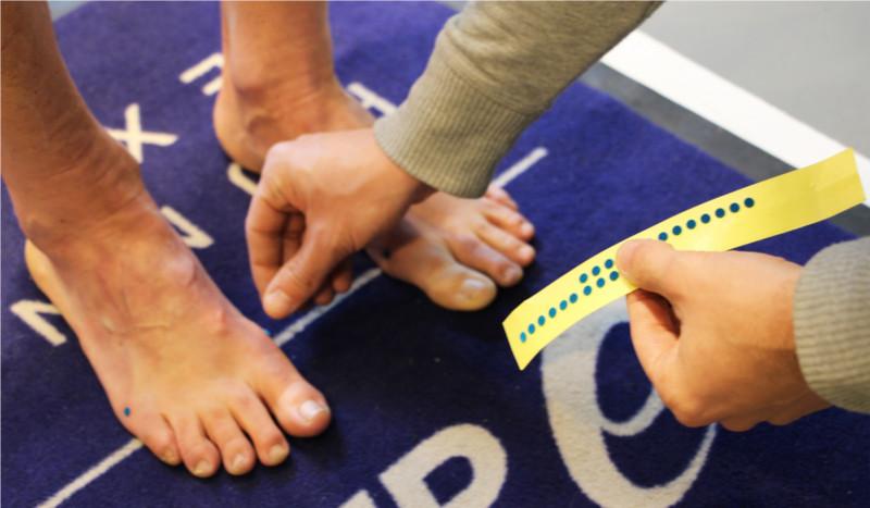 El análisis de pisada más completo con ASICS Foot ID