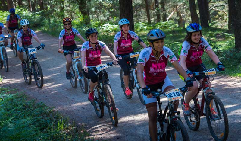 No te pierdas el Mountain bike de la Mujer