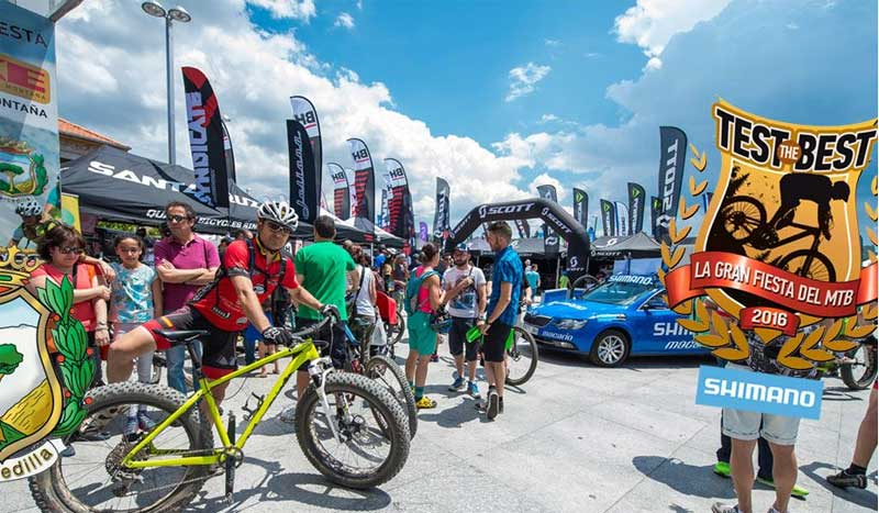El gran festival de mountain bike, ¡vuelve el Test the best!